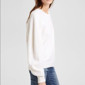 Theory Felted Knit Sweatshirt